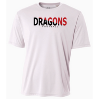 Mens Short Sleeve T-Shirt - Dragons Football