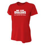 Womens Short Sleeve T-Shirt - We Are Dragons NPHS
