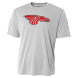 Mens Short Sleeve T-Shirt - Red Dragon Head