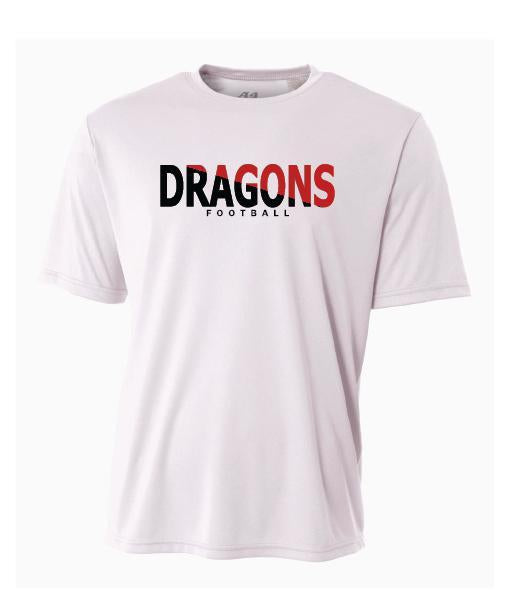 Youth Short Sleeve T-Shirt - Dragons Football