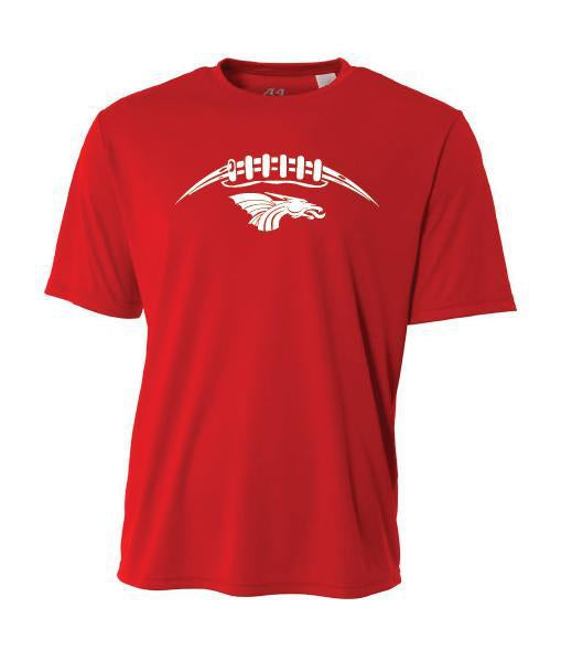 Youth Short Sleeve T-Shirt - Dragons Football Laces