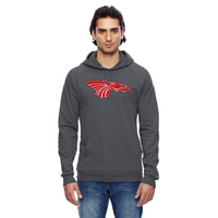 Unisex California Fleece Hoodie - Red Dragon Head