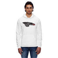 Unisex California Fleece Hoodie - Black Dragon Head