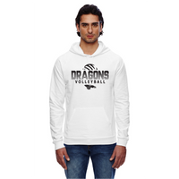Unisex California Fleece Hoodie - Dragons Volleyball