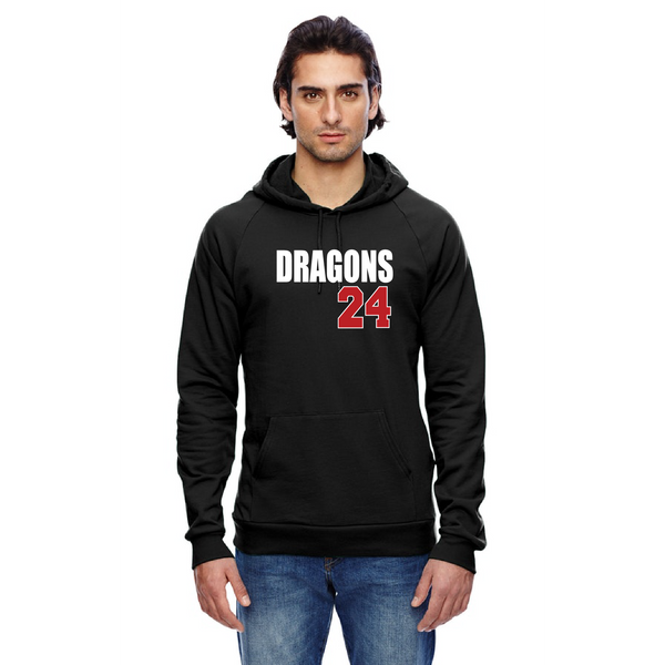 Unisex California Fleece Hoodie - Dragons ## (Custom)