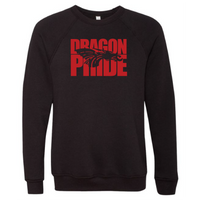 Unisex Sponge Fleece Sweatshirt - Dragon Pride