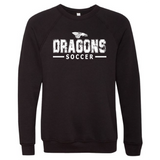 Unisex Sponge Fleece Sweatshirt - Dragons Soccer