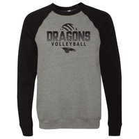 Unisex Sponge Fleece Sweatshirt - Dragons Volleyball