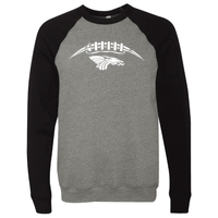 Unisex Sponge Fleece Sweatshirt - Dragons Football Laces