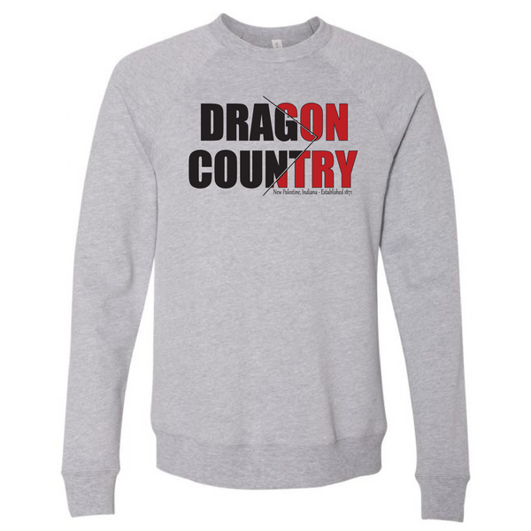Unisex Sponge Fleece Sweatshirt - Dragon Country Arrowed