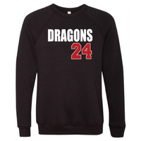 Unisex Sponge Fleece Sweatshirt - Dragons ## (Custom)