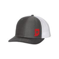 Classic Snapback - Indiana Outline w/NP Logo (red)