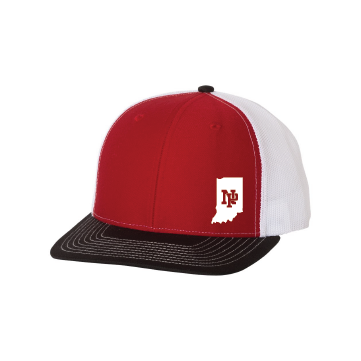 Classic Snapback - Indiana Outline w/NP Logo (white)