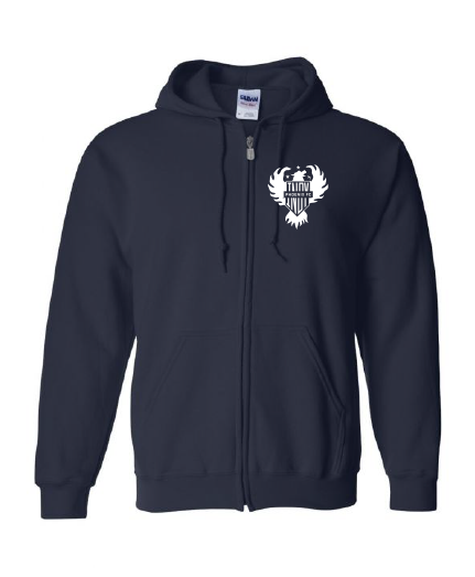 Indy Phoenix FC Zip Up Hooded Sweatshirt (Youth)