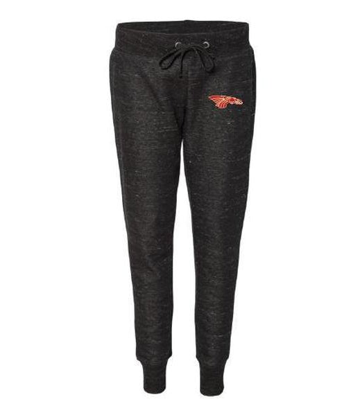 Women's Jogger Pants - Red Dragon Head Logo