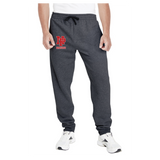 Adult Unisex Joggers - Red NP Dragons, Stacked