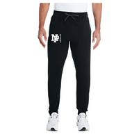 Adult Unisex Joggers - White NP Dragons, Side by Side