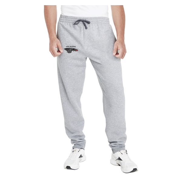 Adult Unisex Joggers -  Black Dragon Head Logo