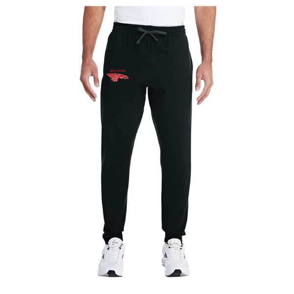 Adult Unisex Joggers - Red Dragon Head Logo