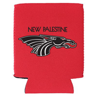 Black New Pal Dragons Logo Koozie