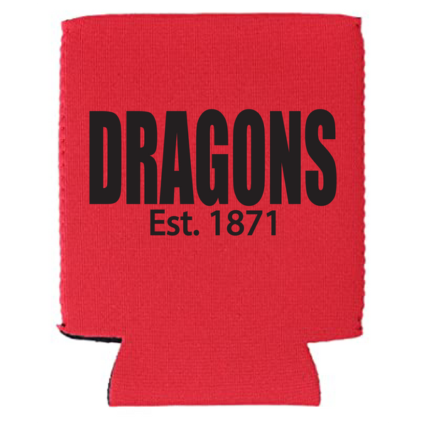 New Pal Dragons Est 1871 Koozie