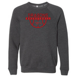 Unisex Sponge Fleece Sweatshirt - Dragons Basketball