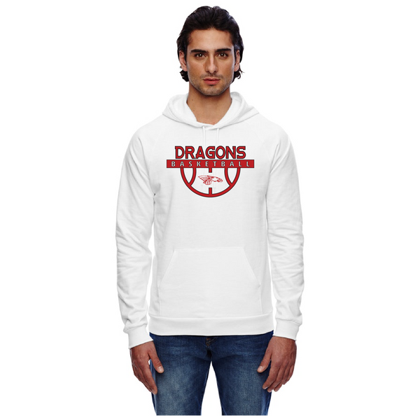 Unisex California Fleece Hoodie - Dragons Basketball