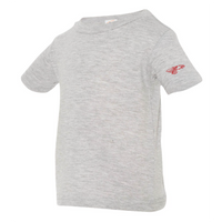 Infant Short Sleeve T-Shirt - No Naps On Game Day (red)