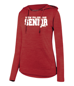 Womens Lightweight Hoodie - New Palestine SENIOR