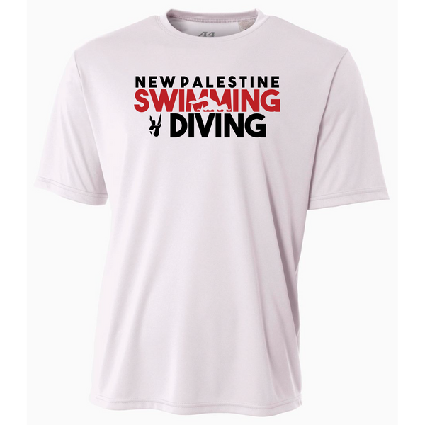 Mens Short Sleeve T-Shirt - Dragons Swimming & Diving