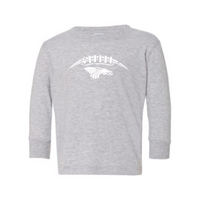 Toddler L/S T-shirt:  Dragons Football Laces