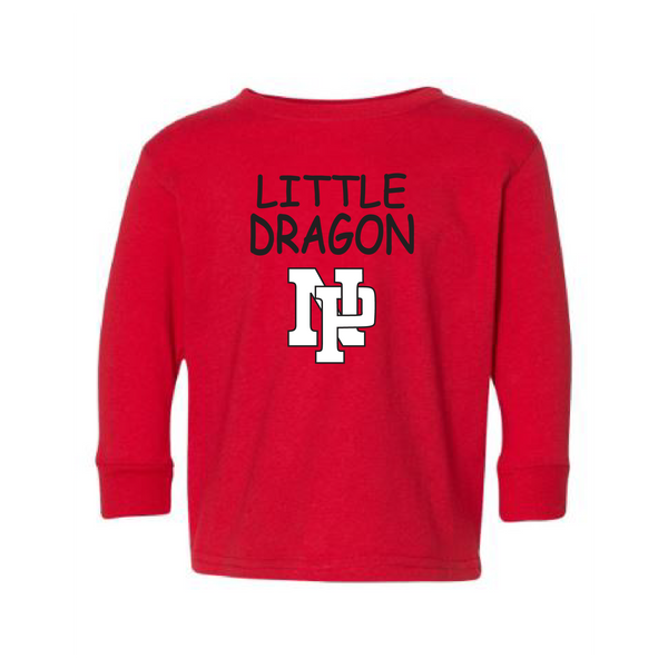 Toddler L/S T-shirt:  Little Dragon