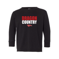Toddler L/S T-shirt:  Dragon Country
