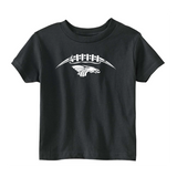 Toddler S/S T-shirt:  Dragons Football Laces