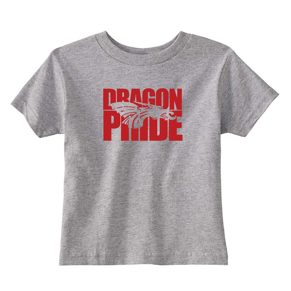 Toddler S/S T-shirt:  Dragon Pride