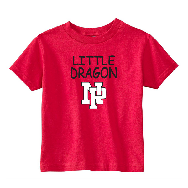 Toddler S/S T-shirt:  Little Dragon