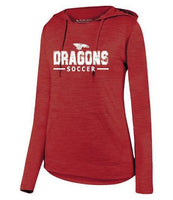 Womens Lightweight Hoodie - Dragons Soccer