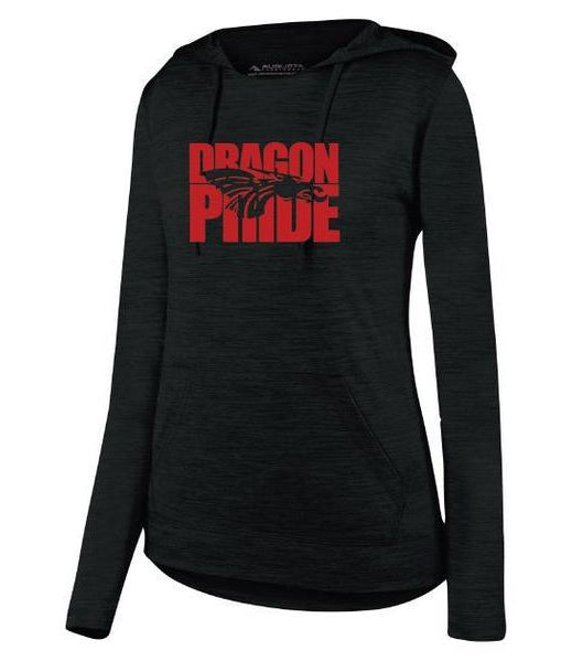 Womens Lightweight Hoodie - Dragon Pride