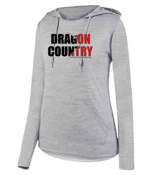 Womens Lightweight Hoodie - Dragon Country Arrowed