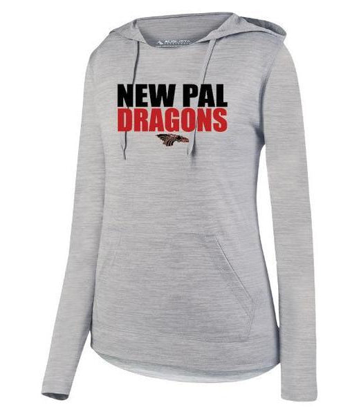 Womens Lightweight Hoodie - New Pal Dragons