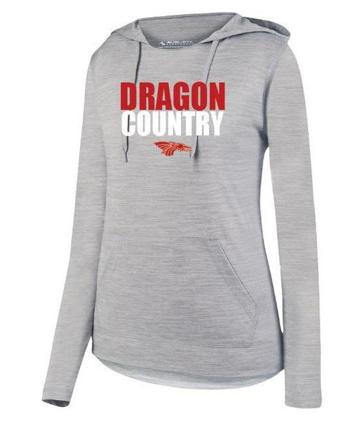 Womens Lightweight Hoodie - Dragon Country