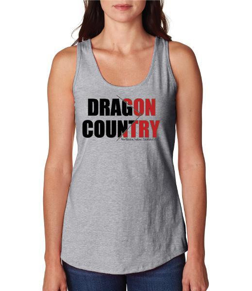 Womens X-Temp Performance Tank Top - Dragon Country Arrowed