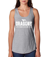 Womens X-Temp Performance Tank Top - Dragons Soccer
