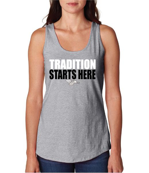 Womens X-Temp Performance Tank Top - Tradition Starts Here