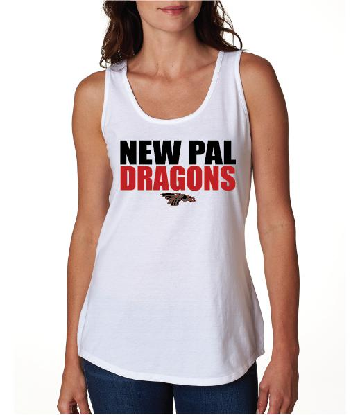 Womens X-Temp Performance Tank Top - New Pal Dragons