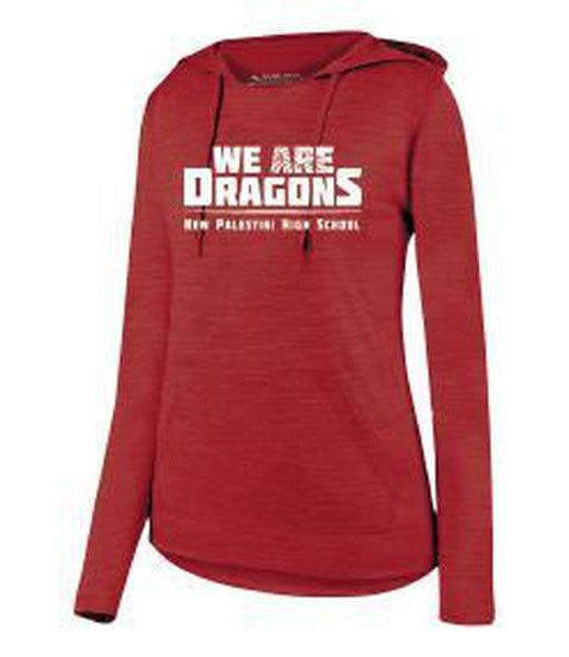 Womens Lightweight Hoodie - We Are Dragons NPHS