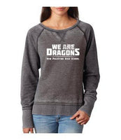 Womens Zen Contrast Crew Top -  We Are Dragons NPHS