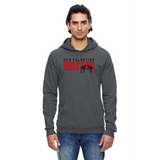 Unisex California Fleece Hoodie - Dragons Wrestling