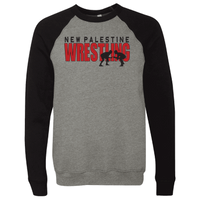 Unisex Sponge Fleece Sweatshirt - Dragons Wrestling