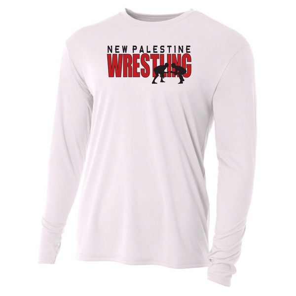 Mens Long Sleeve T-Shirt - Dragons Wrestling